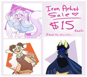 Iron Artist Sale