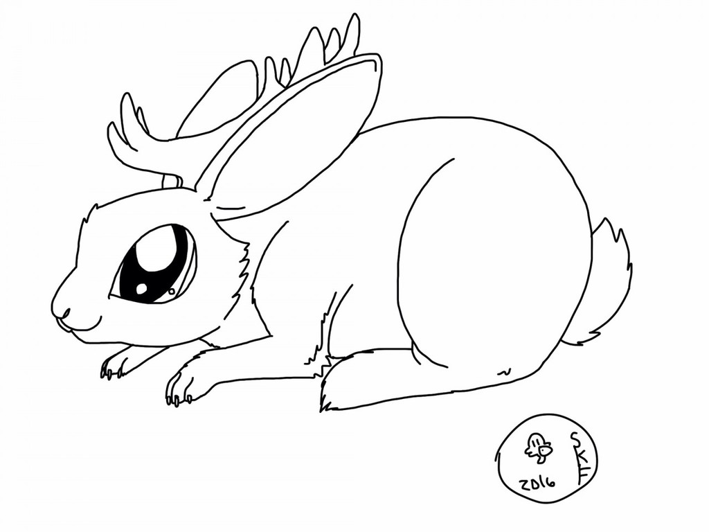 FREE DOMESTIC JACKALOPE