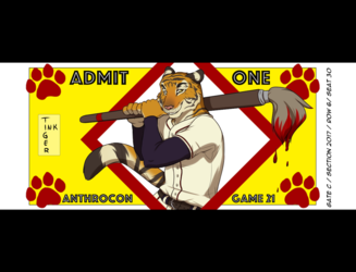 Badge: AnthroCon ArtShow