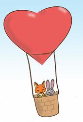 Zootopia Valentine