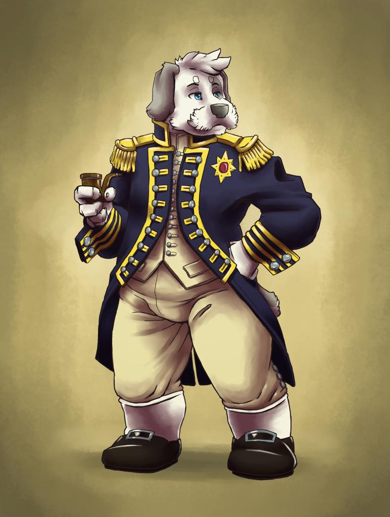 Admiral Barnaby by Dawnchapel