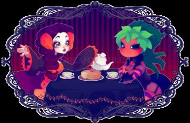 Spooky Tea Party