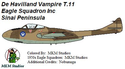 Eagle Squadron Vampire Trainer