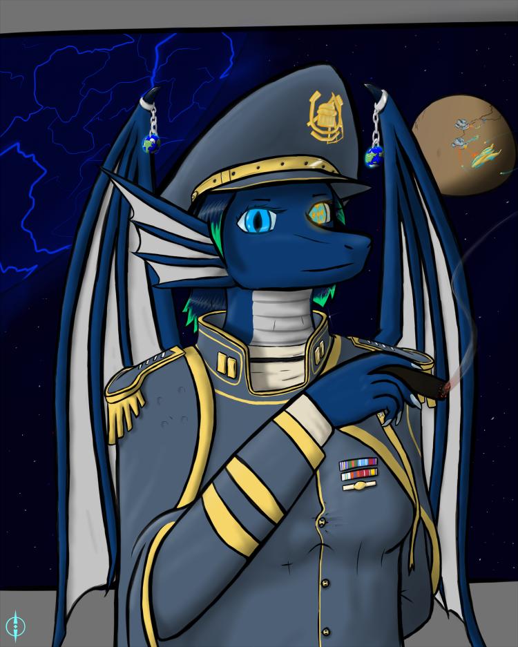 Commander Sapphy
