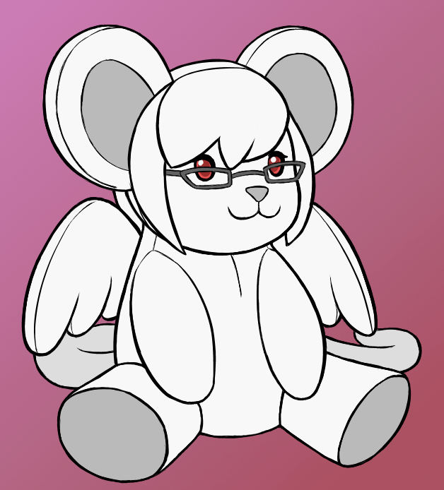 Most recent image: Plush Musculus