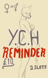 YHC pin-up reminder