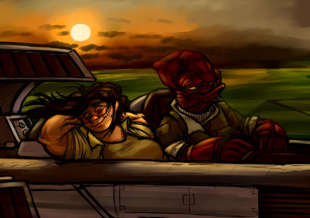 Dantooine Sunset