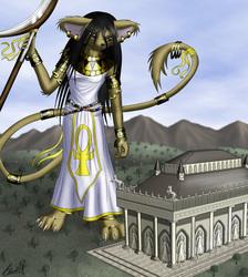 Kiya's Wonders V - Mausoleum of Halicarnassus