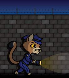 Pounce the Cop