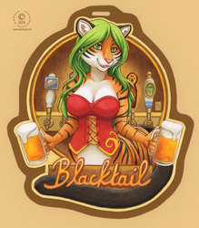 Blacktail Badge