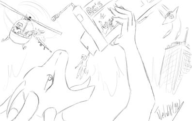 Huge Hunger! (Sketch)