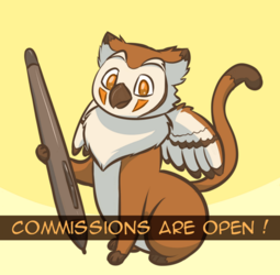 Commissions are open !