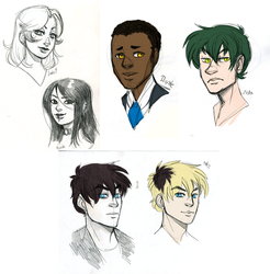 [doodle] Some OCs and stuff