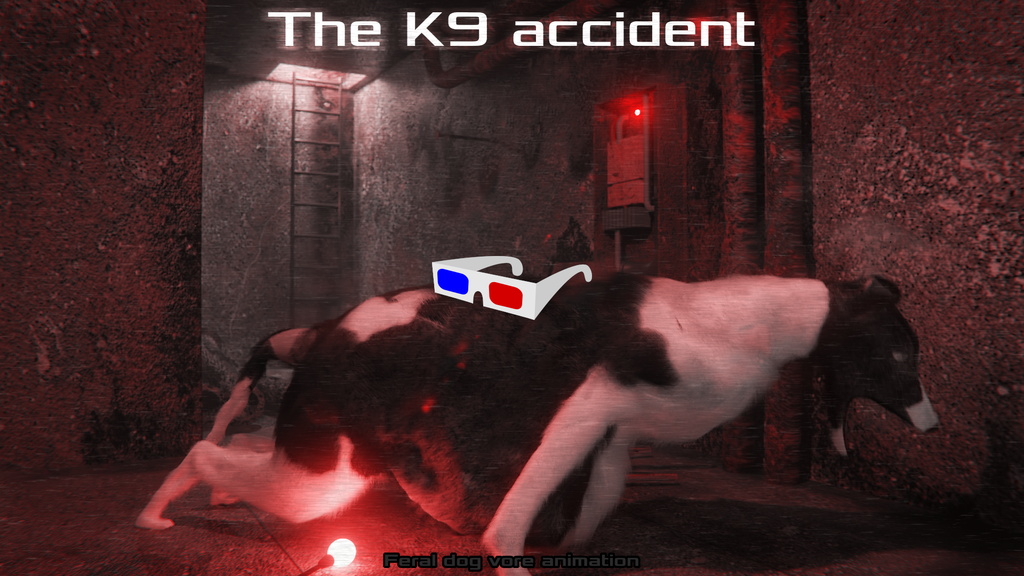 The K9 Accident (Anaglyph stereo)