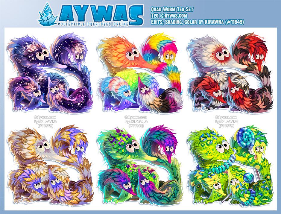 Aywas: Quad Worm Teos