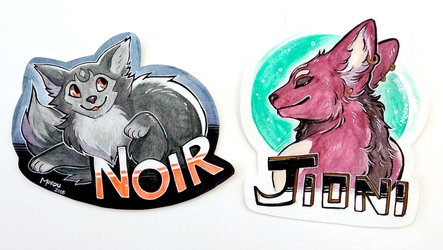 [G] Test Badges for HelioFox + Nytra