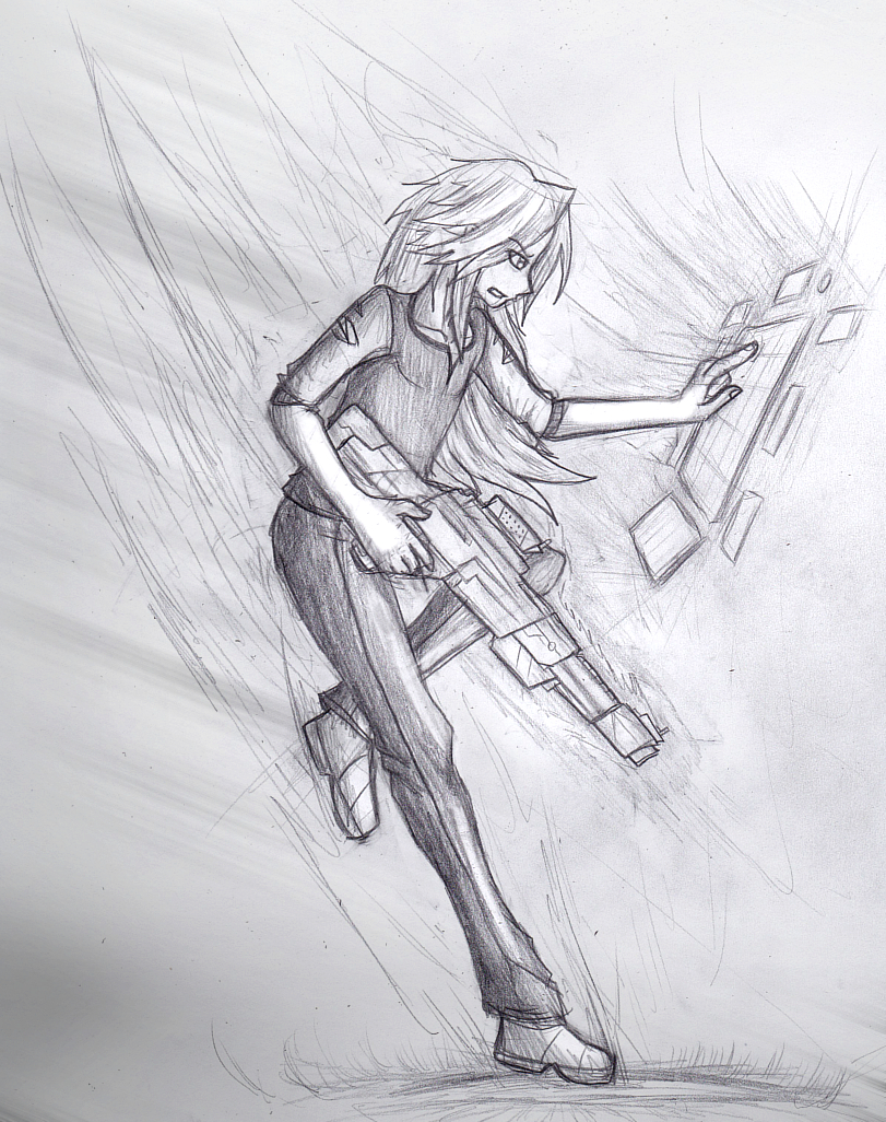 Action Character Sketch test 2