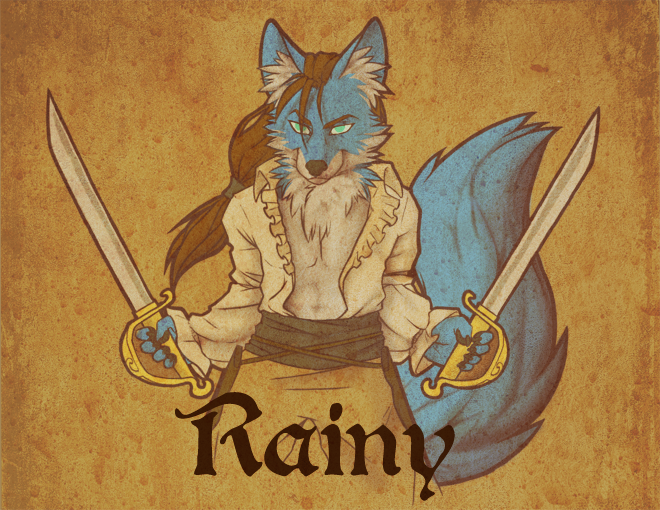 Midwest Furfest Pirate badge 4