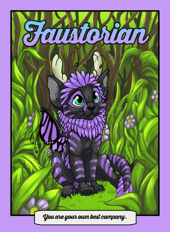 Faustorian - mock Serendipity book cover