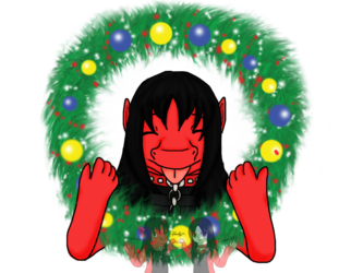 YCH: Draness Christmas Individual Icon