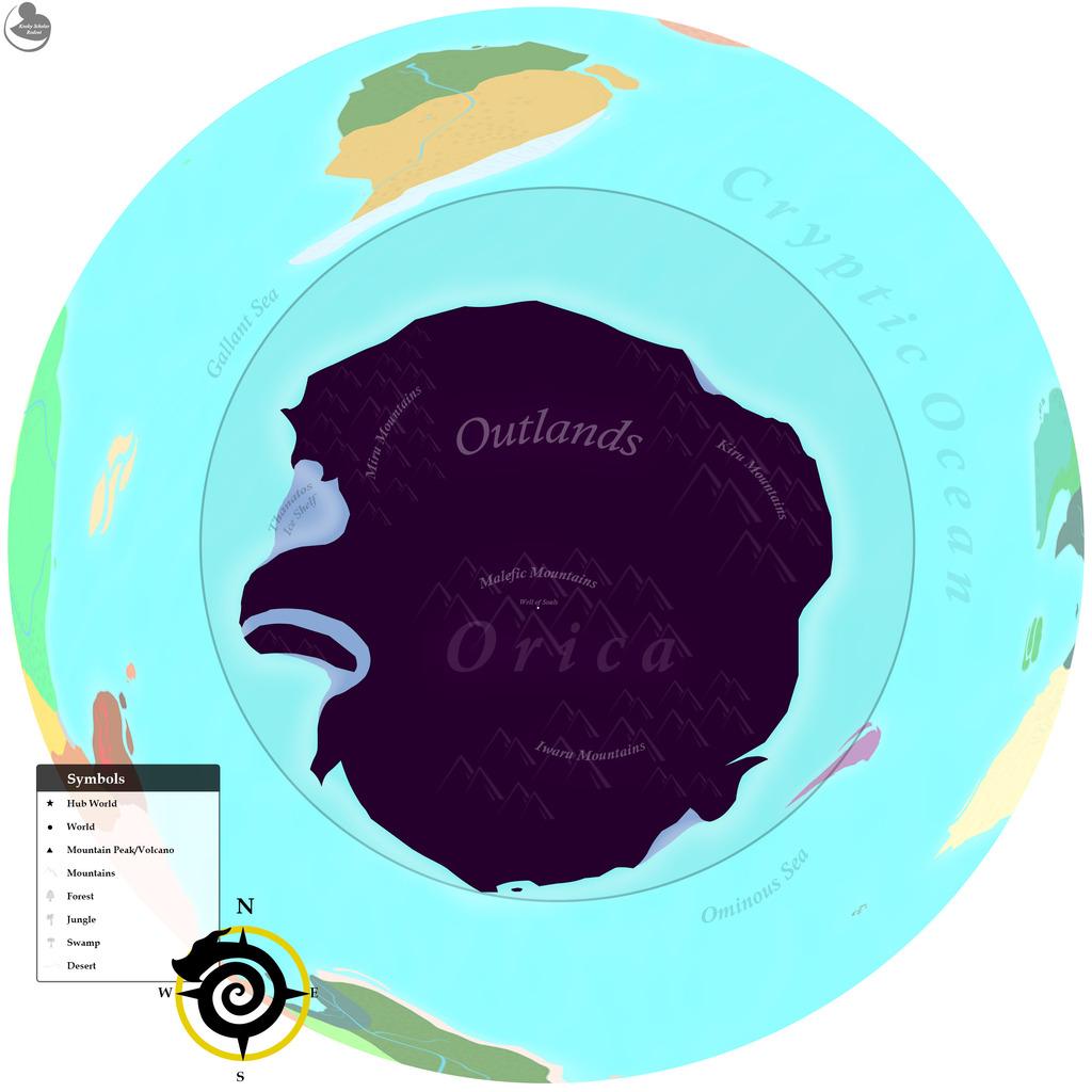 Most recent image: Spyro World Map (South Pole)