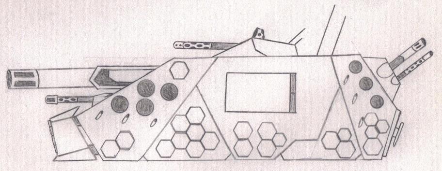 "DE Light Tank Destroyer """"ярость II LTD"" (Rage II LTD)"""