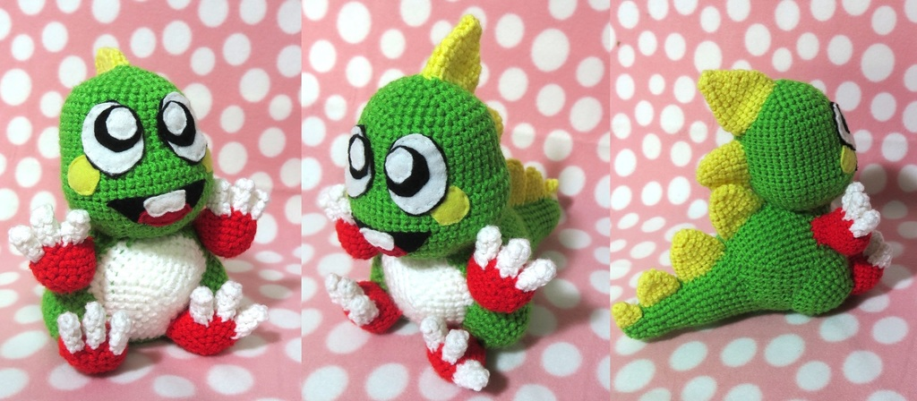 Most recent image: Bub from Bubble Bobble