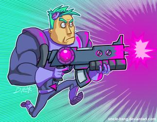 Neon Laser Cadet