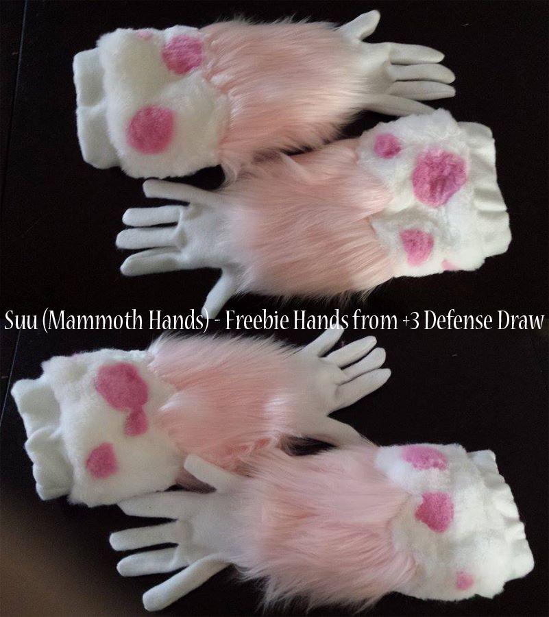 Sweet Sushi - Suu Hand Paws [prize]