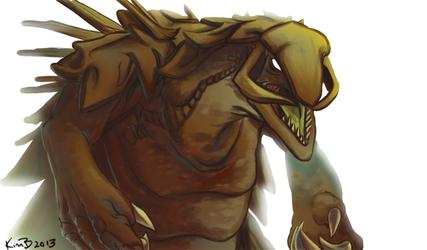 Rock Crested Behemoth