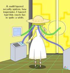 A Breachmon Hacking An Access Point