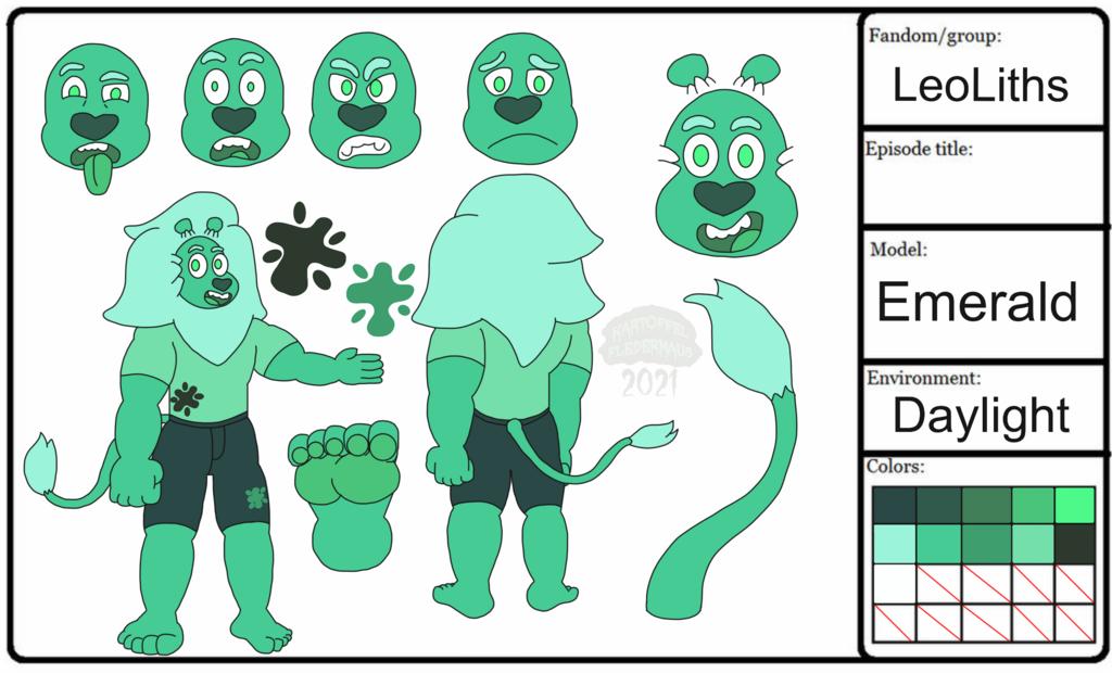Emerald Model Sheet