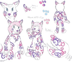 Request: Kira Anthro Ref