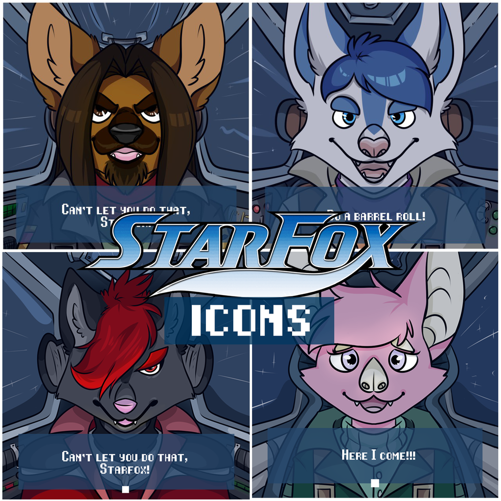 Most recent image: Starfox icons for sale! $20 each!