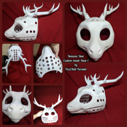 Kemono Deer Custom-made 3D Head Base 1