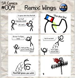SR Comics #004 HD Remix: Wings