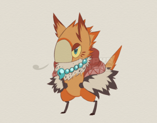 Toruna the Birdfolk