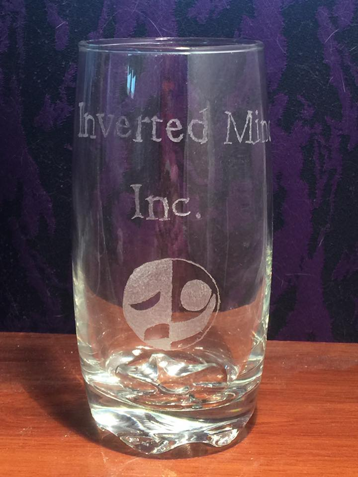 Inverted Minds Etched Glass Commission