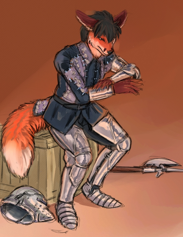 Commission-Suiting Up