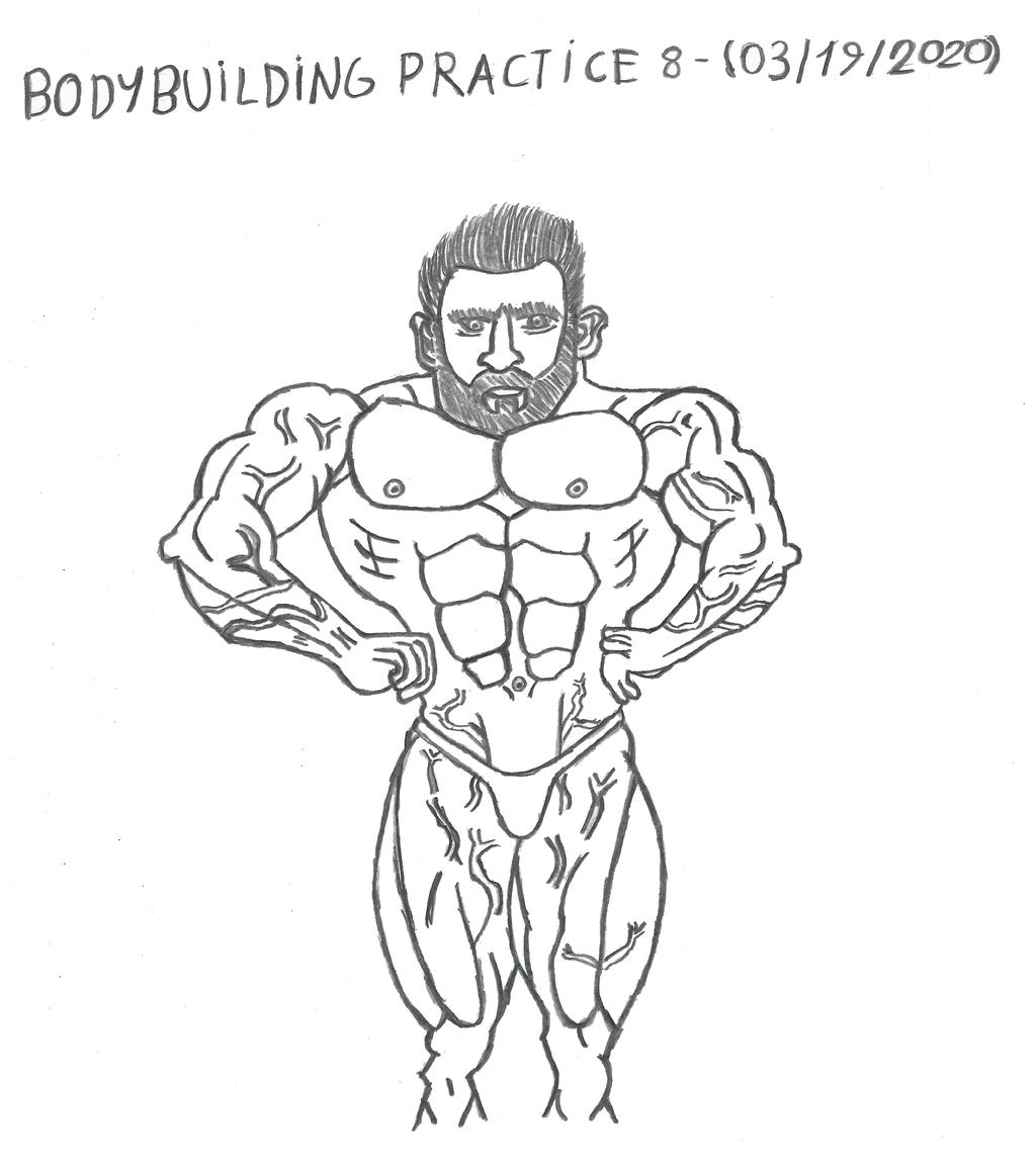 Bodybuilding - Anatomy Practice 8