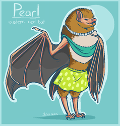 Pearl - Eastern Red Bad adopt!