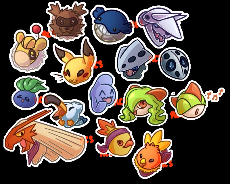 Pokemon Emerald Icons