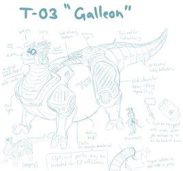 "T-03 ""Galleon"""