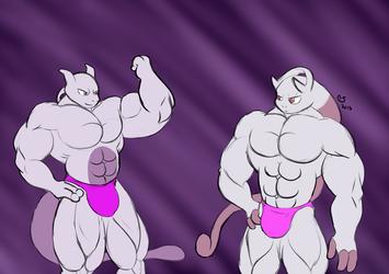 Pokemon: Buff Mewtwo Bros.
