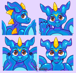 Rockclaw Telegram Sticker 4 Pack