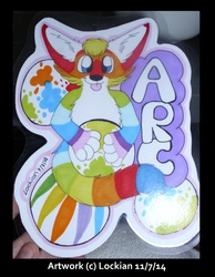 Bust promarker con badge for Arc