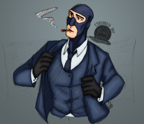 Spy Getting Ready