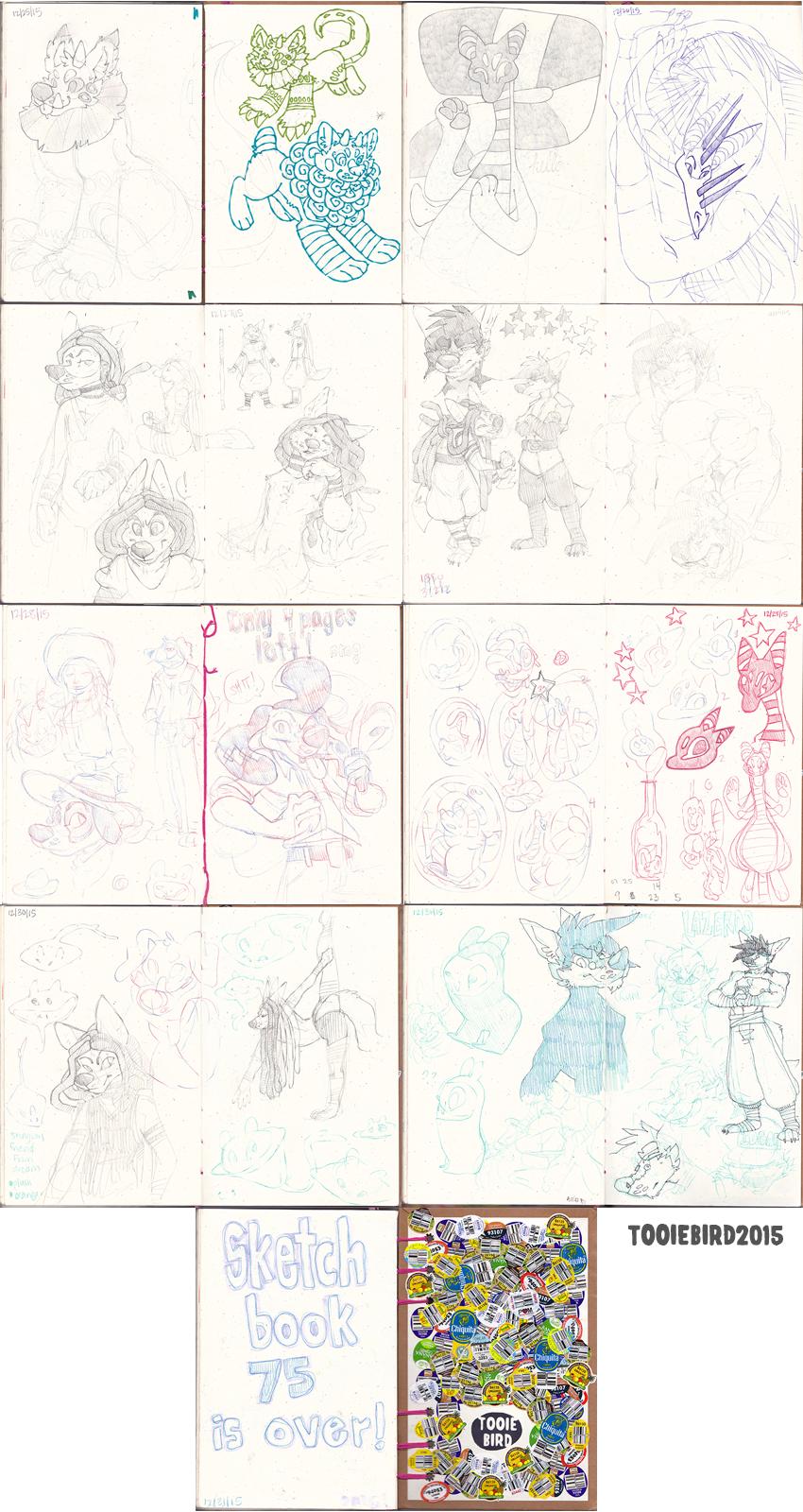 Sketchbook 75 - Part 10