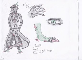 Silas clothed ref sheet
