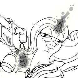 Ponyhammer: Chaos Legion Trixie (for sfaccountant)